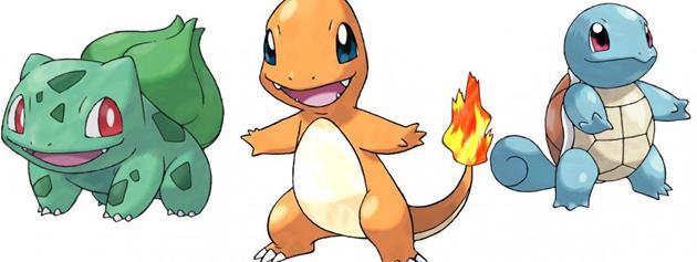 Pour commencer à Pokémon GO : Salamèche, Carapuce ou Bulbizarre