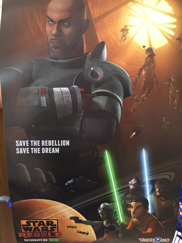 Saw Gerrera dans Star Wars Rebels