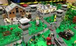 Walking Dead : les décors de la série construits en LEGO par Ch'ti Lug : Une oeuvre unique en Europe à découvrir en images