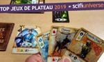 Les meilleurs jeux de plateau 2019 sélectionnés par l'équipe de Scifi-Universe : Retrouvez nos coups de coeur ludiques de 2019