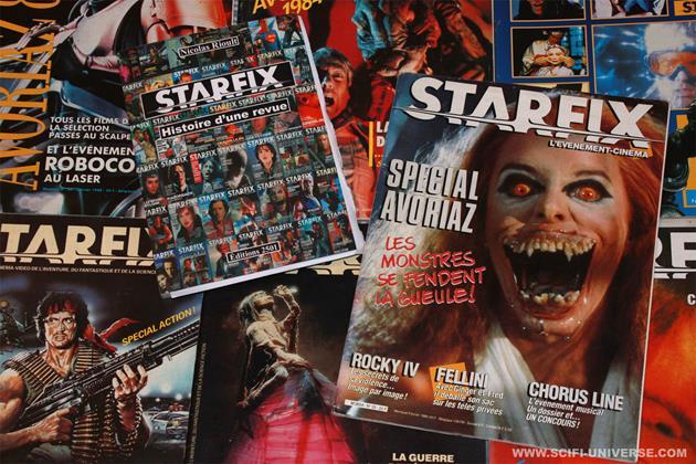 Starfix : Zoom sur la génération science-fiction : Toute l'équipe de Starfix était à Movies 2000