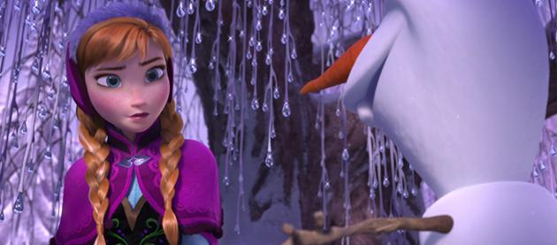 Clip sur la rencontre entre La reine des Neiges, Kristoff et Olaf : Anna va se faire un nouvel ami