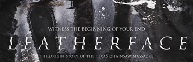 L'affiche de Leatherface nous donne un aperçu des origines du massacre à la tronçonneuse : Attention à ne pas vous couper les pieds !