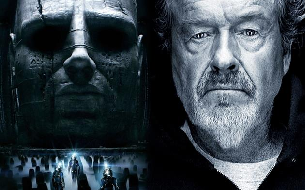Ridley Scott explique en vidéo pourquoi Prometheus est devenu un film Alien : La suite de Prometheus fait parler d'elle