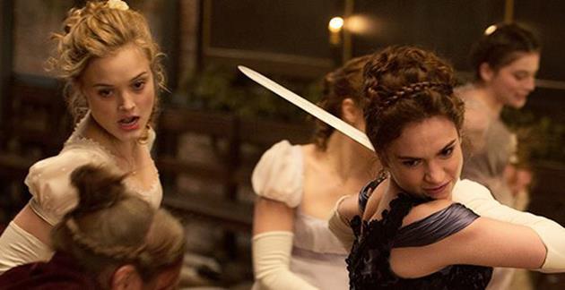 Le trailer d'Orgueil et Préjugés et Zombies va plonger les filles Bennet en plein combat : Les filles, il va falloir danser, chanter et se battre
