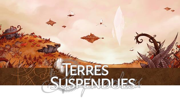 Terres Suspendues : une nouvelle édition pour le dixième anniversaire : Arcanes + Punk = Arcanepunk...