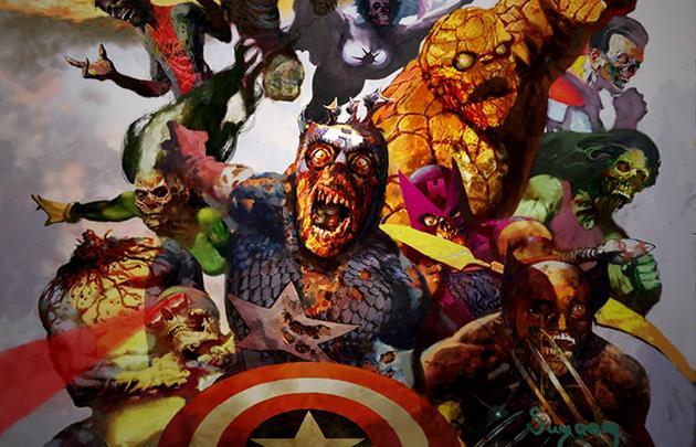 Vidéo trailer d'Halloween : Les Avengers passent en mode zombie : L'épidémie s'étend et tout le monde risque d'être touché