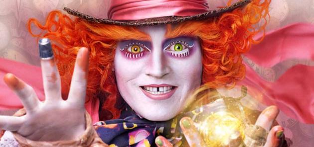 5 posters de personnages pour Alice au Pays des Merveilles 2016 : Admirez les costumes de dingue du film