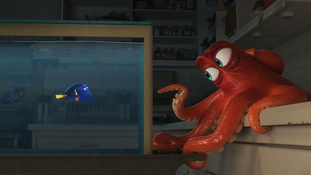 La première bande annonce  et l'affiche teaser de Dory sont arrivées : Nage devant toi Dory, nage devant toi !