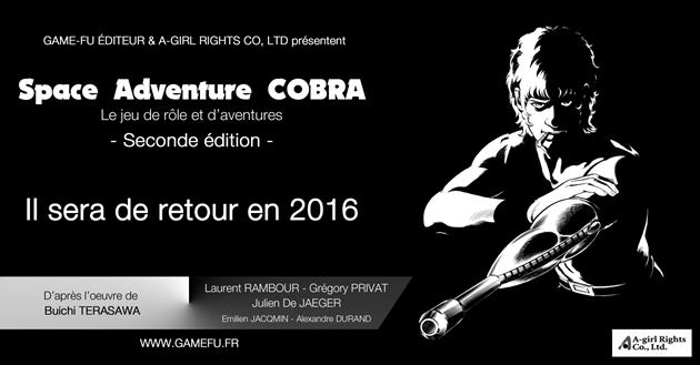 Cobra JDR : vers une deuxième édition : L'aventure se poursuit...