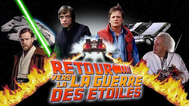 Retour vers la Guerre des Etoiles, un mashup génial entre Star Wars et Retour vers le futur : Les paroles de Retour vers le futur avec les images de Star Wars