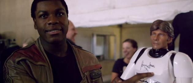 Traversez l'écran avec cette nouvelle featurette sur le tournage de Star Wars : Retour sur les coulisses d'un tournage qui se transforme en fan-club