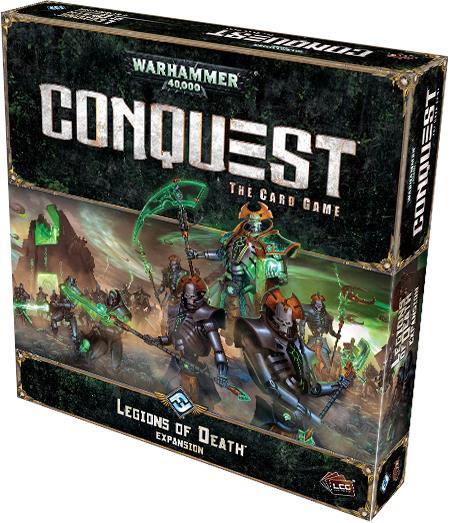 Les Nécrons, la nouvelle faction de l'extension du jeu de cartes Conquest : et ils mangent à tous les rateliers