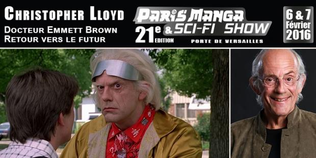 Christopher Lloyd en dédicaces au salon Paris Manga en février 2016 : Nom de Zeus ! Le Dr Emmett Brown sera en dédicaces en France !