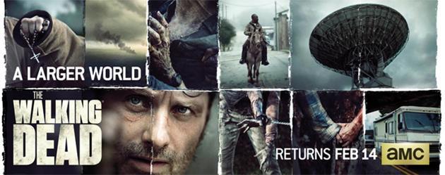 Une image teaser de Walking Dead saison 6 nous montre de nouveaux lieux et personnages : Une antenne satellite, un crucifix, de la fumée...