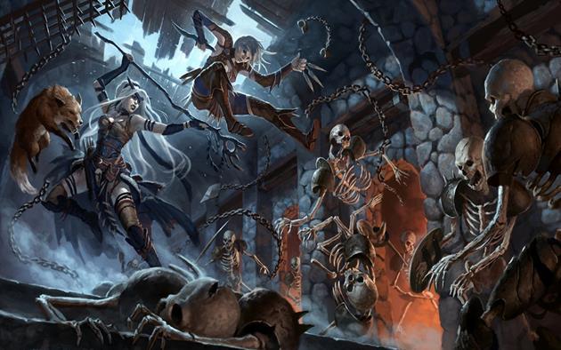 Dungeons et Dragons 5ème édition bientôt disponible en français ? : Deux souscriptions proposées...