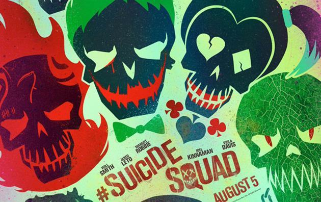 11 nouvelles affiches très graphiques du film l'Escadron Suicide : Les personnages de l'escadron tagués sur les murs