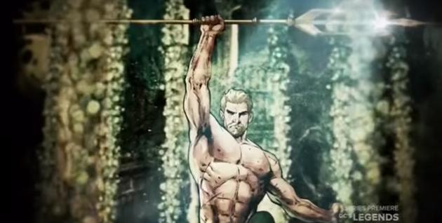 Présentation d'Aquaman à la soirée spéciale Dawn of the Justice League : Jason Momoa nous parle de son personnage en vidéo
