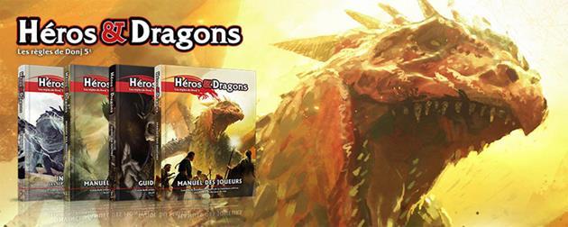 Black Book Editions répond à nos questions sur Héros & Dragons : Qu'est-ce que c'est exactement que ce jeu et pourquoi ne pas l'appeler Donjons et Dragons ?