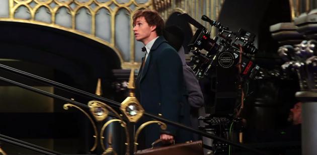 Les Animaux Fantastiques, première vidéo des coulisses du film : Une petite preview et interview des acteurs pour le prochain film dans l'univers d'Harry Potter