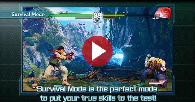 Street Fighter 5 : La bande annonce des différents modes de jeux : Pour jouer à l'infini dans n'importe quelle configuration
