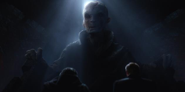 Qui est le Leader Suprême Snoke dans Star Wars 7 ? Notre théorie sur son identité : Notre théorie et toutes les pistes sur l'identité secrète de ce personnage obscur