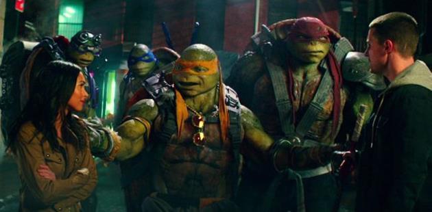 Nouveau trailer pour les Tortues Ninja Out of the Shadows : Une part de pizza et en avant la bande annonce