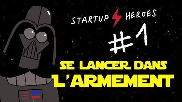 Vidéo Humour : Dark Vador lance l'étoile noire 2.0 : Ou comment lancer sa startup dans l'armement