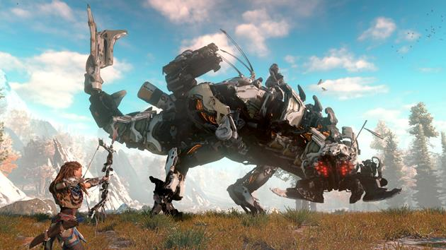 E3 2016 : Gameplay trailer de Horizon Zero Dawn : Un nouveau jeu PS4 entre robots et heroic fantasy