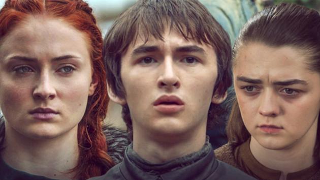 Game of Thrones : Evolution des enfants Stark entre la saison 1 et 6 : Des morphing vidéos pour voir comment les enfants sont devenus des adultes