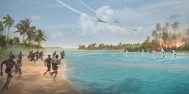 Rogue One : Nouveaux extraits et affiche du prochain Star Wars : Infos dévoilées lors de la Star Wars Celebration 2016