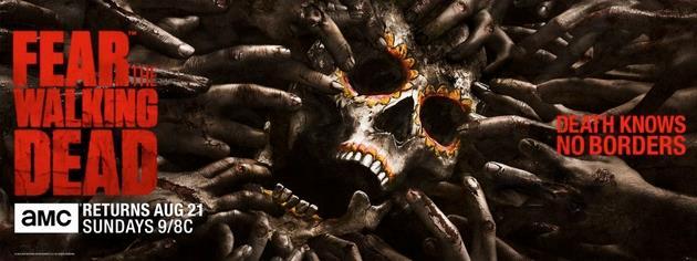 Fear the Walking Dead Saison 2 : Comic Con Trailer : Les morts ne connaissent pas les frontières