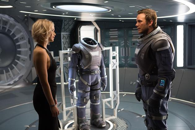Trailer du film Passengers : Pratt et Lawrence perdus dans l'espace : Une aventure spatiale en concurrence directe avec Star Wars Rogue One