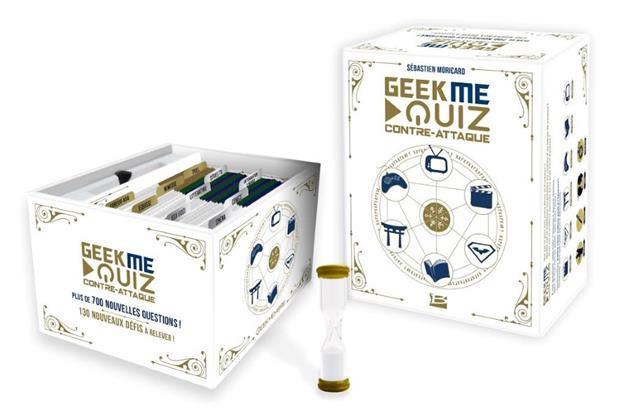 Concours GeekMeQuiz contre-attaque : gagnez 3 boites du jeu : Un geek tu seras en participant à ce concours