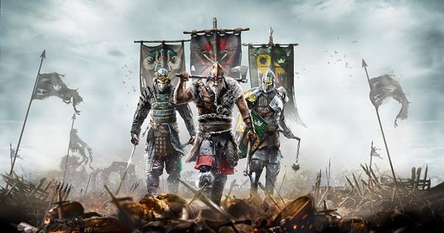 Les Jeux Vidéo de la Semaine : Chevalier vs. Viking vs. Samouraï avec For Honor : Sorties de la semaine 07 : Du 13/02 au 17/02