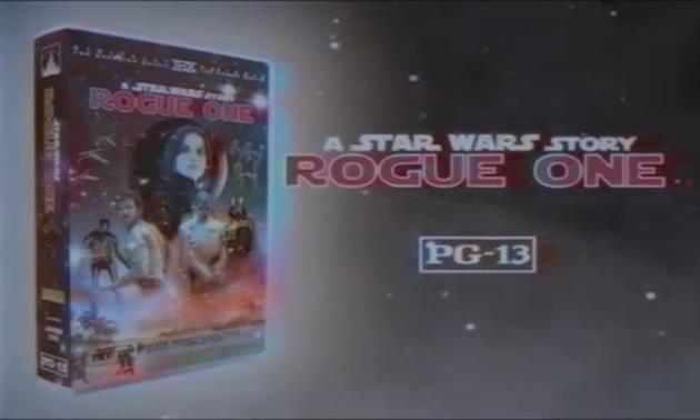 Star Wars Rogue One, bientôt disponible en VHS ! : Admirez la qualité des effets spéciaux