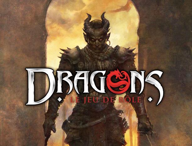 Ouverture du backerkit pour le jeu de rôle Dragons  : La tétralogie commence à pointer le bout de son nez...