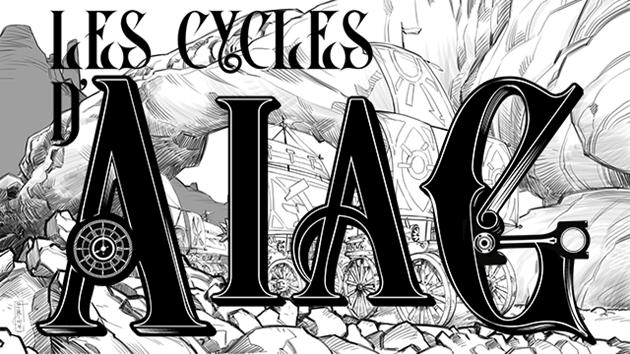 Un financement participatif pour le jeu de rôle Les Cycles d'Aïag : L'auteur du jeu répond à nos questions...