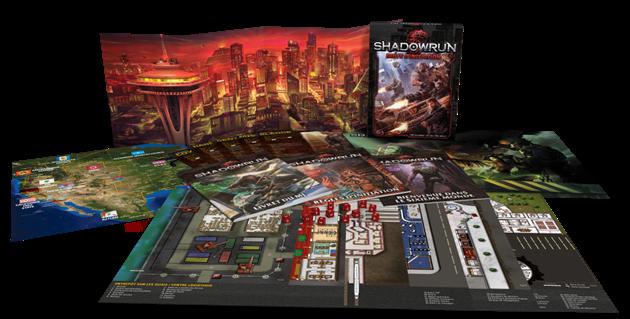Un kit d'initiation pour découvrir le jeu Shadowrun : L'éditeur répond à nos questions...