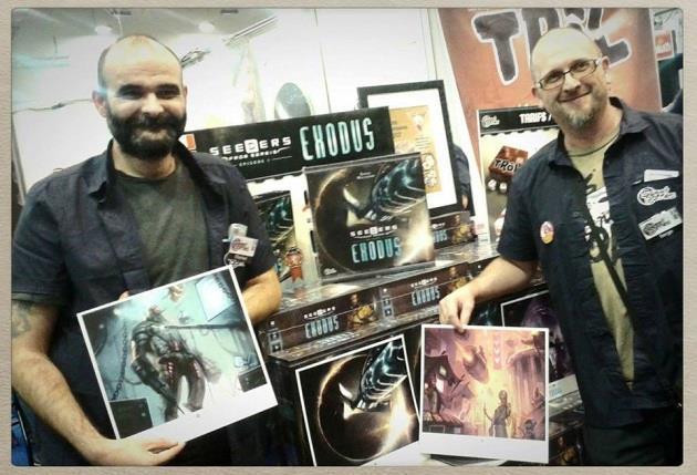 Entretien avec... Serge Macasdar et Charbel Fourel : Interview des créateurs du jeu Seeders from Sereis : Episode 1 - Exodus