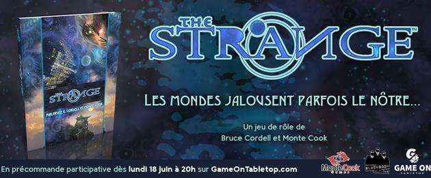 The Strange : un nouveau jeu de rôle chez Black Book Édition : En financement participatif dès ce soir...