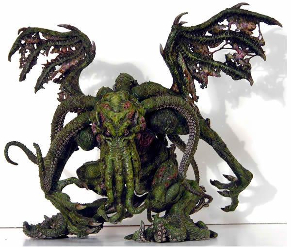 Des figurines HP Lovecraft en import chez Sota Toys : Contemplez les créatures de l'écrivain !
