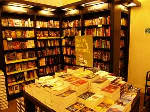 Un rayonnage de livres bien alléchant