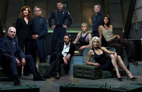 Les personnages principaux de Battlestar Galactica