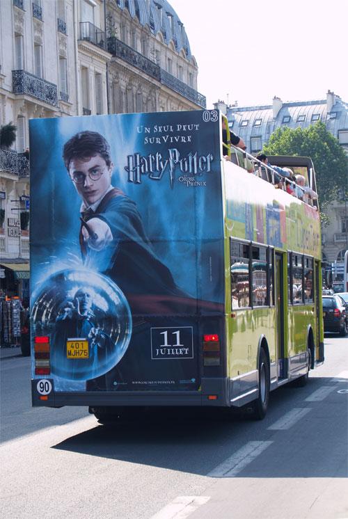 L'affiche centrée sur Harry