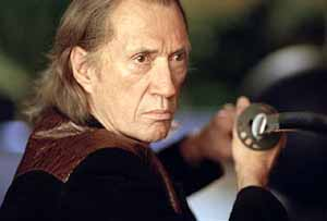 David Carradine dans Kill Bill