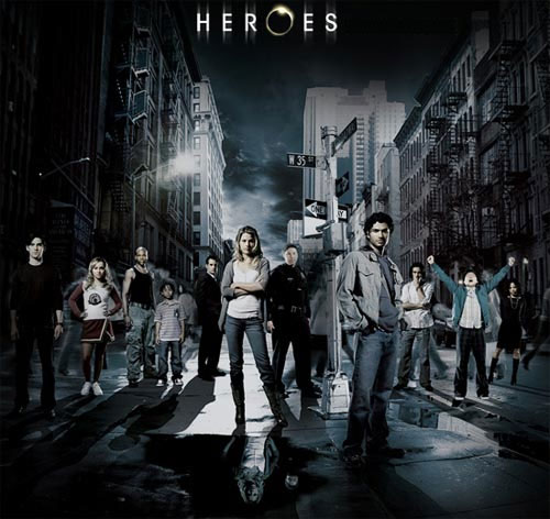Les personnages principaux de la série