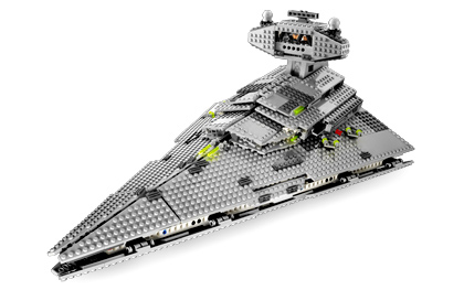 Gagnez le superbe Imperial Star Destroyer en LEGO