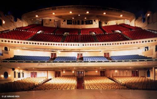 Imaginez cette salle remplie de spectateurs...