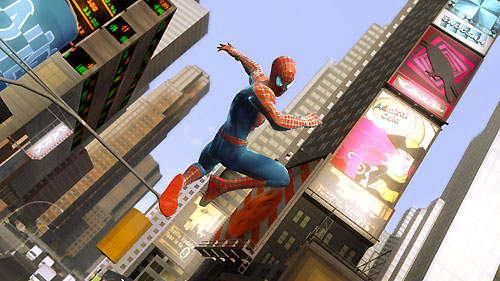 Spider-Man dans Manhattan